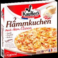 Flammkuchen aus dem Elsass, Original, Tiefgefroren, Kauffer's