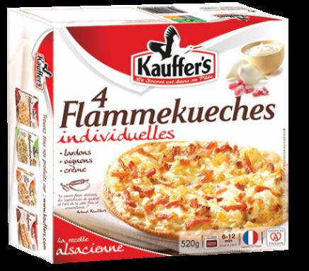 Flammkuchen aus dem Elsass, Original, Einzelportionen, Tiefgefroren, Kauffer's