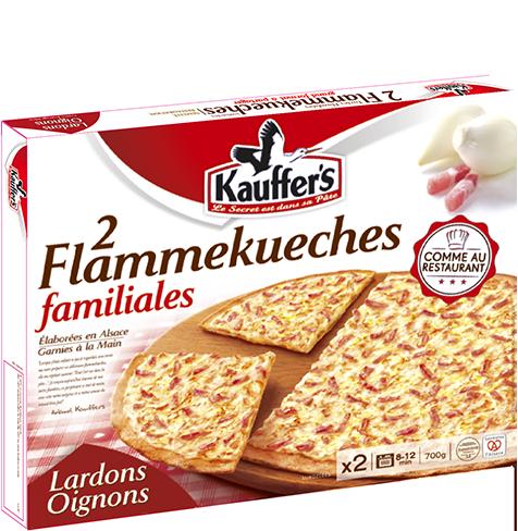 Pack de 2 flammekueches alsaciennes familiales