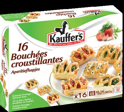 Boîte de 16 bouchées croustillantes Kauffer's