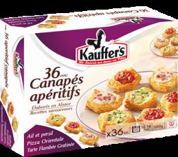 Aperitifhäppchen, Tiefgefroren, Kauffer's