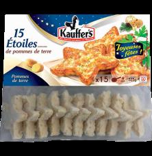 Kartoffel-Rösti, Sternform, festlich, tiefgefroren, Kauffer's