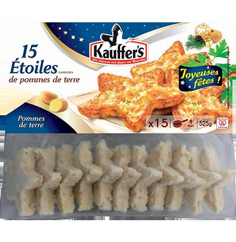 Sachet de 15 étoiles de pommes de terre