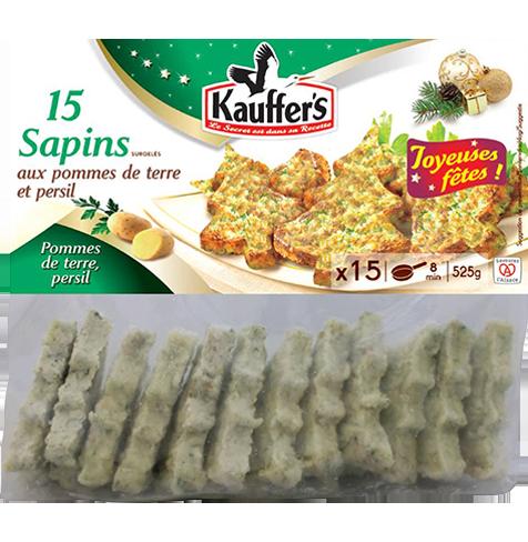 Sachet de 15 sapins aux pommes de terre et persil Kauffer's