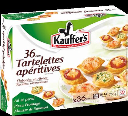Boîte de 36 tartelettes apéritives