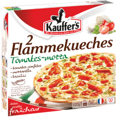 Boîte de 2 Flammekueches Tomates-mozza Kauffer's